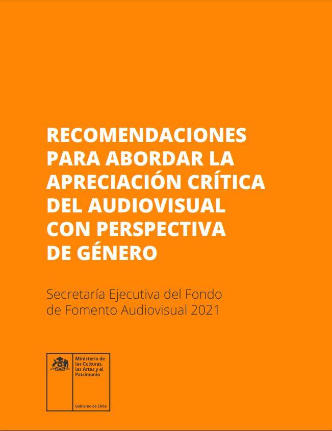 Recomendaciones para abordar la apreciación crítica del audiovisual con perspectiva de género