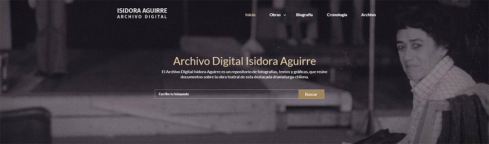 Archivo Digital Isidora Aguirre