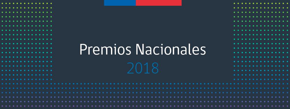 Premios Nacionales 2018
