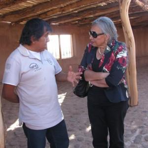 directora regional de antofagasta visita aldea de tulor
