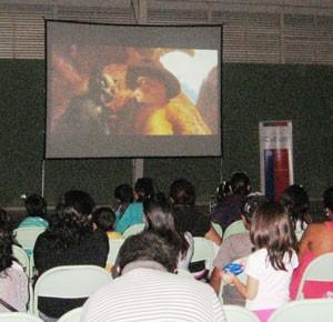 400 personas disfrutaron del Cine en Combarbalá e Illapel