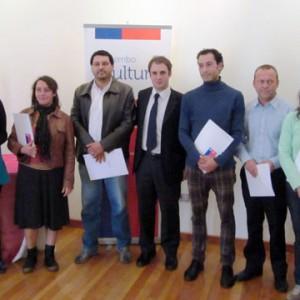 entrega de fondos cultura en region de coquimbo