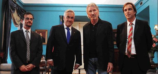 roger waters se reúne con presidente piñera y ministro cruz-coke