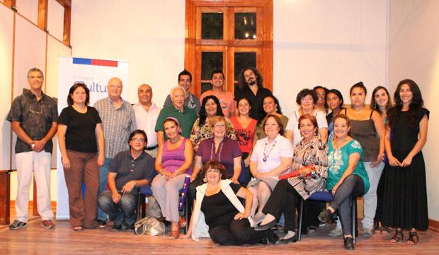 encuentro de artistas regionales en Ohiggins
