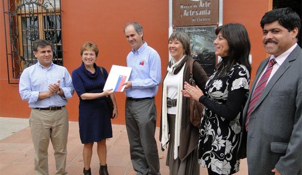 Directora de Cultura entrega Plan de Trabajo Mesa Turismo Cultural