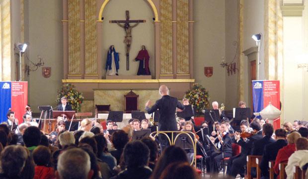 Orquesta Filarmónica de Santiago en Catedral de Rancagua