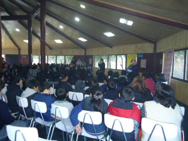 Carlos Genovese en Puerto Aysen realizó cuentacuentos
