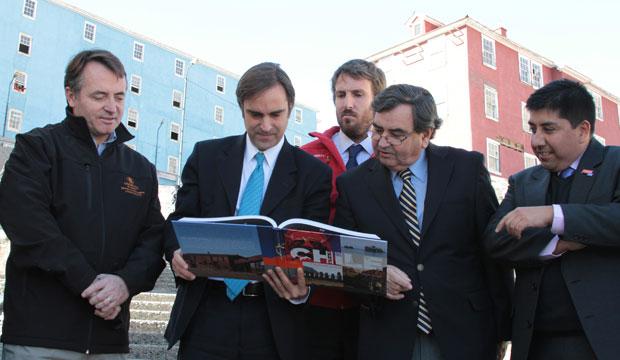 Ministro en Sewell lanzamiento libro turismo cultural