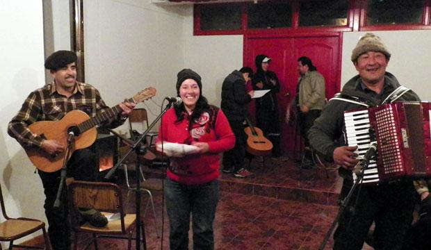 Músicos de Villa Cerro Castillo participan de Residencia Artística
