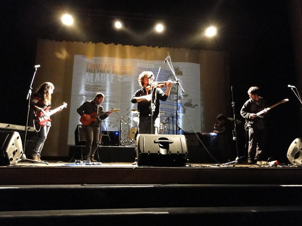Escuelas de Rock, Maule