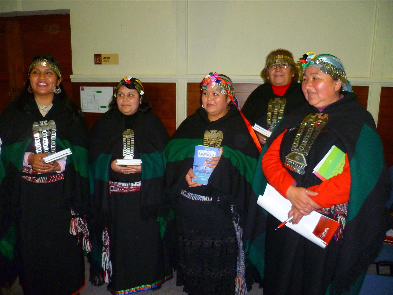 En el Encuentro de Turismo y Patrimonio Cultural fueron invitados de forma especial las directivas de las nueve agrupaciones mapuches que hay en la Región.