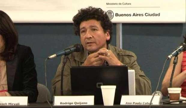 Rodrigo Quijano, de Perú, invitado al Encuentro de Artistas y Mediadores para la Internacionalización