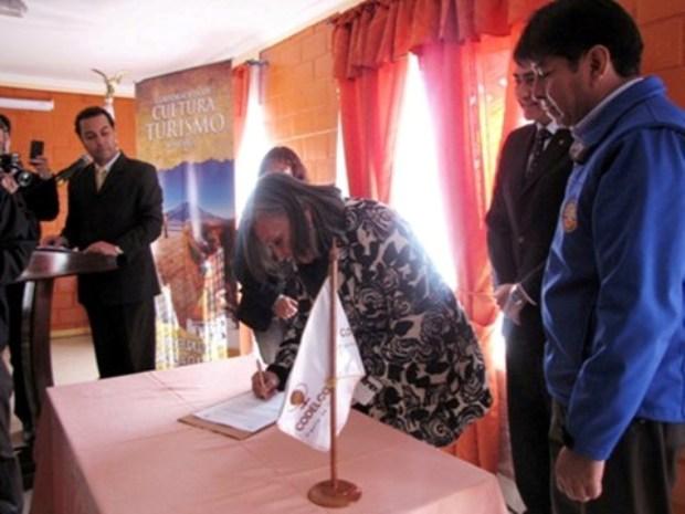 antofagasta firma del convenio