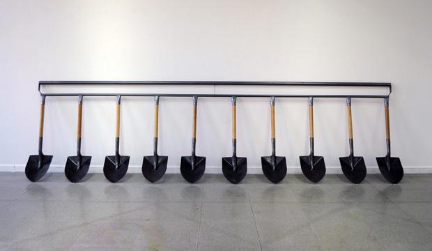 """Camila-Ramírez - """"Palas Comunitarias"""", en Galería Gabriela Mistral"""