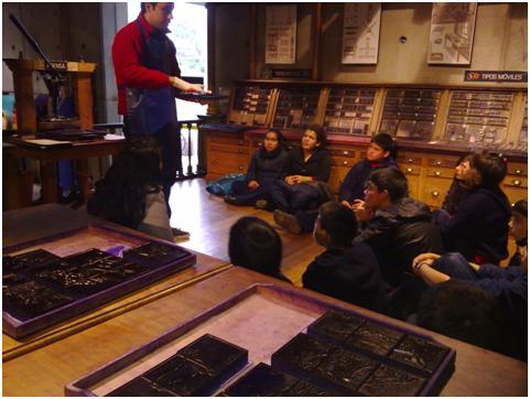 El pasado 20 de junio, los alumnos del taller de grabado de la Escuela Nuestra Señora de las Peñas de Pedro Aguirre Cerda, visitaron el Museo Interactivo Mirador donde pudieron experimentar con la ciencia y la tecnología.