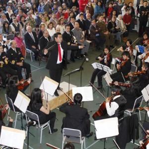 Inédito concierto de la Orquesta Sinfónica Regional de Aysén