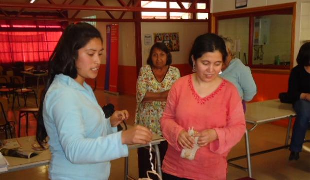Artesana Marcia Faúndez realizó capacitación a sus pares en jornada Microzonal