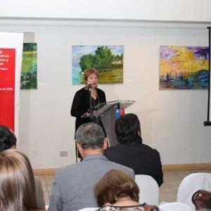 Irene Albornoz rinde Cuenta Pública Maule 2012