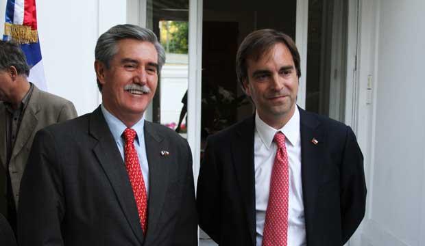 embajador de mexico y ministro cruz-coke