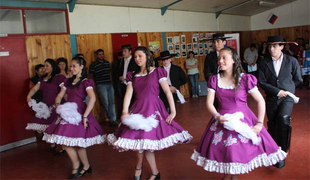 Capacitaciones de Folklore como parte del trabajo de SPC en Aysén