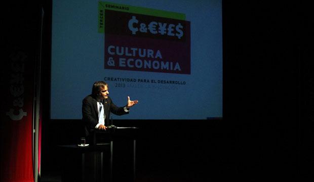 Ministro de Cultura en Seminario Cultura & Economía