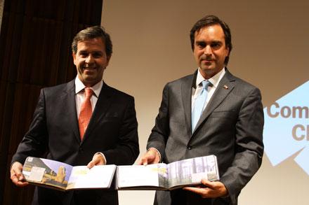 Félix de Vicente y Luciano Cruz-Coke