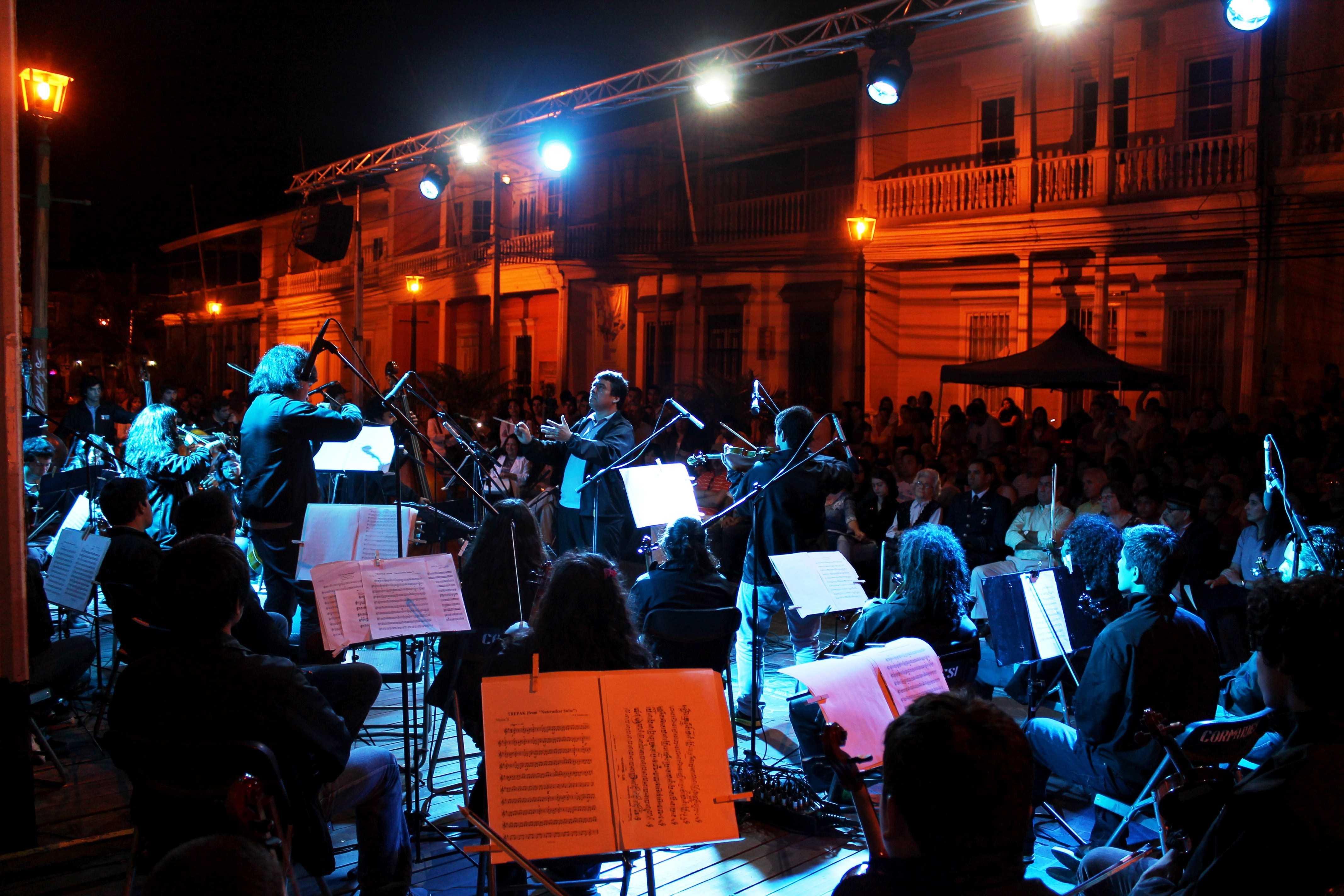 Presentación en Iquique Orquesta Camping Musical del Tamarugal