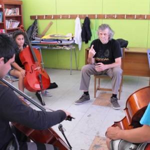 Clase de Violoncello del Profesor Mircea Ticu