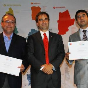 Ministro premia gestión de Municipalidad de Padre Las Casas