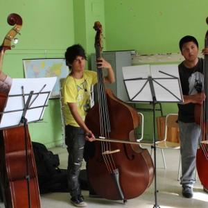 Durante cuatro días jovenes de las Orquestas de Aysén recibieron capacitación