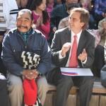 Lorenzo Aillapán y Ministro Cruz-Coke dan inicio a la convocatoria de los Tesoros Humanos Vivos 2013