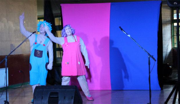 Teatro inquietud es uno de los elencos parte de la Comitiva Cultural