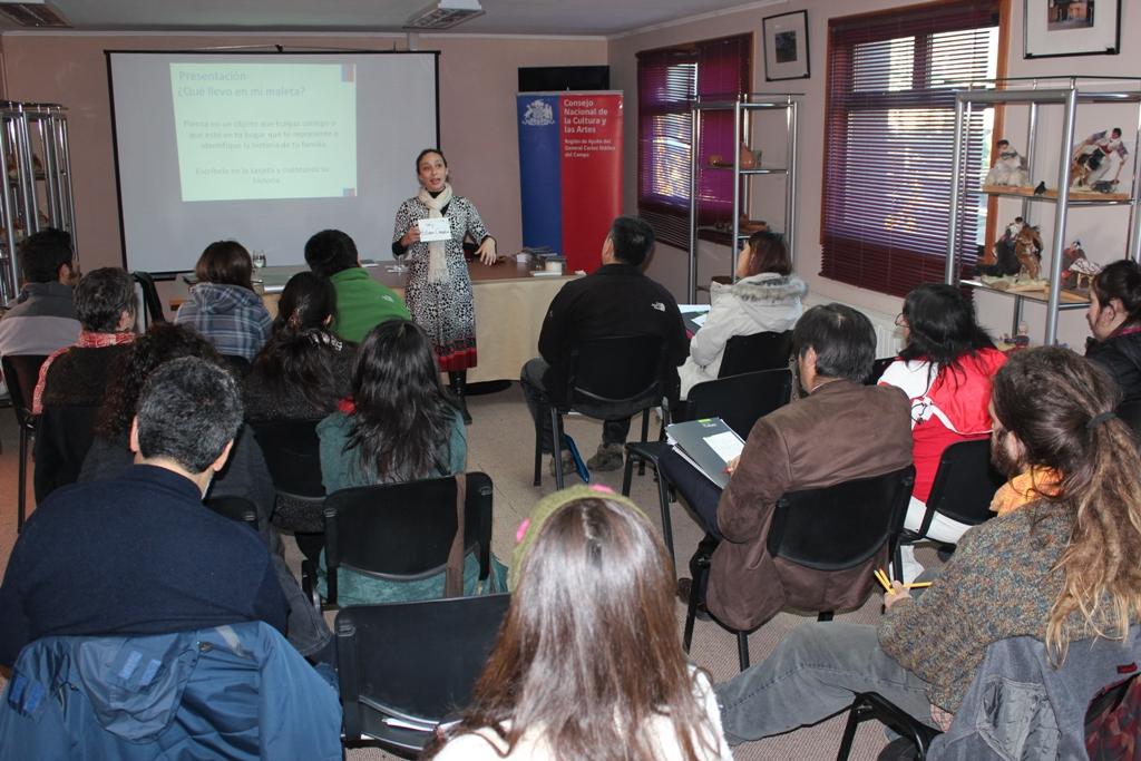 Jornada de sensibilización patrimonial en Aysén