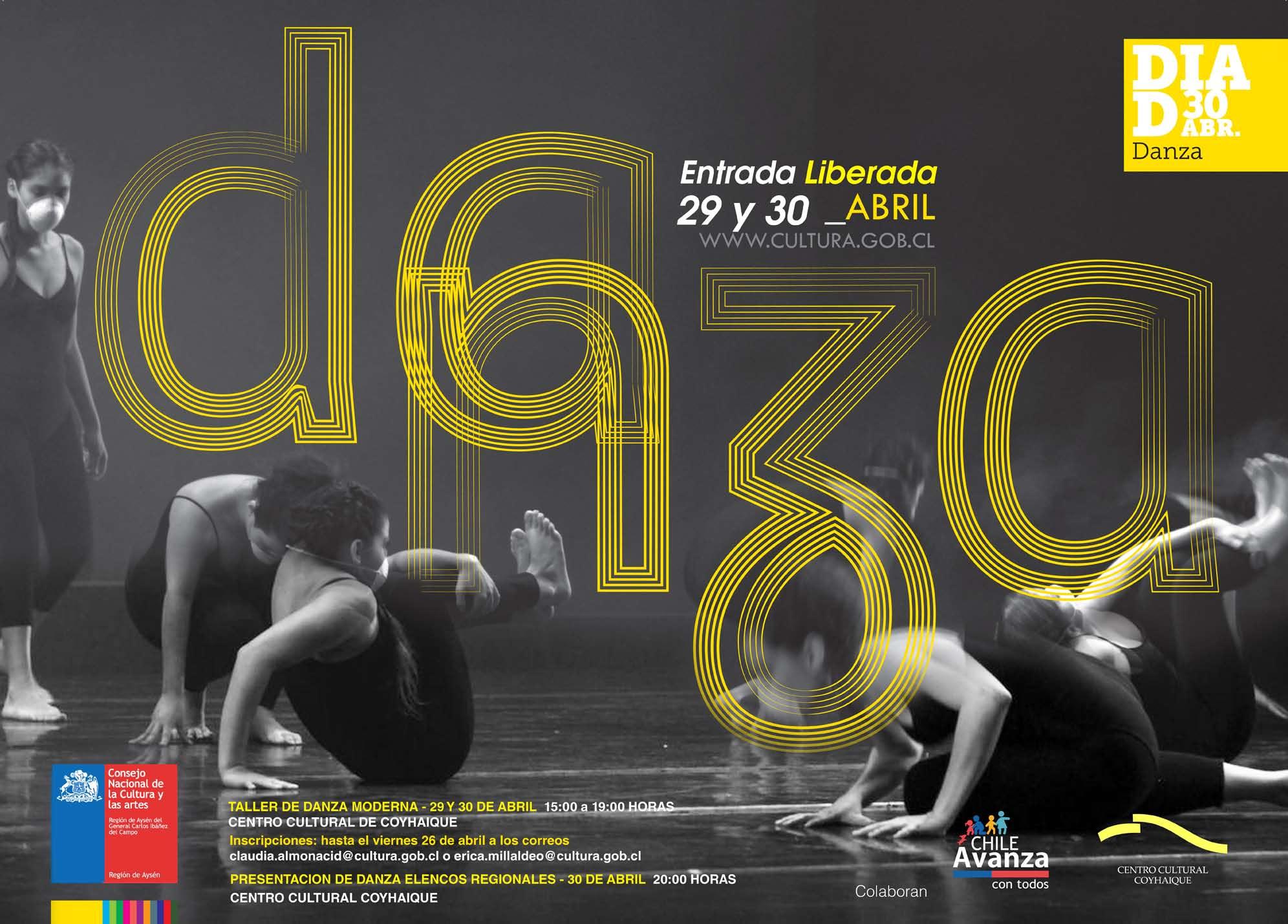 Día de la Danza en Aysén: 29 y 30 de abril