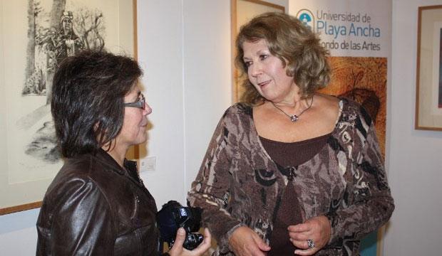 María Teresa Devia, directora del Fondo de las Artes de la Upla