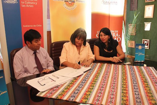 Ratifican implementación de Programa de Cultura Local en Calama