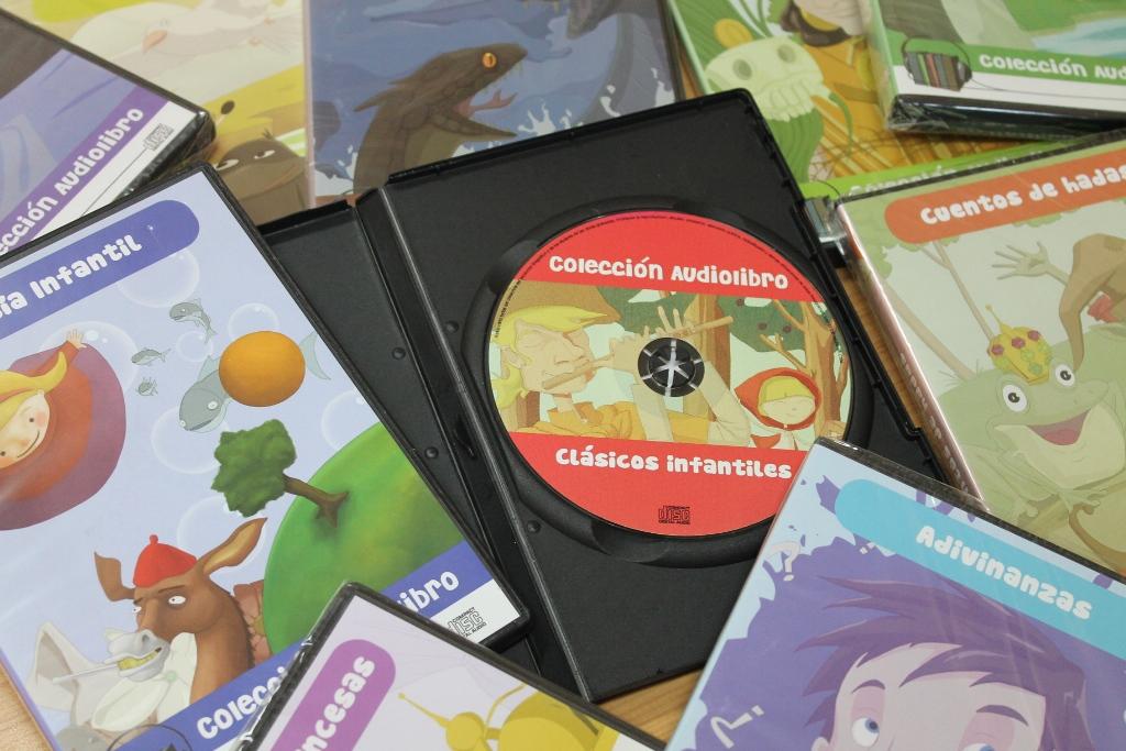Colección audiolibros