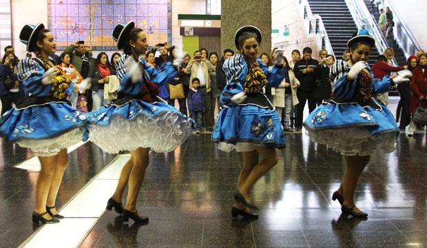 Semana de la Educación Artística en Metro de Santiago