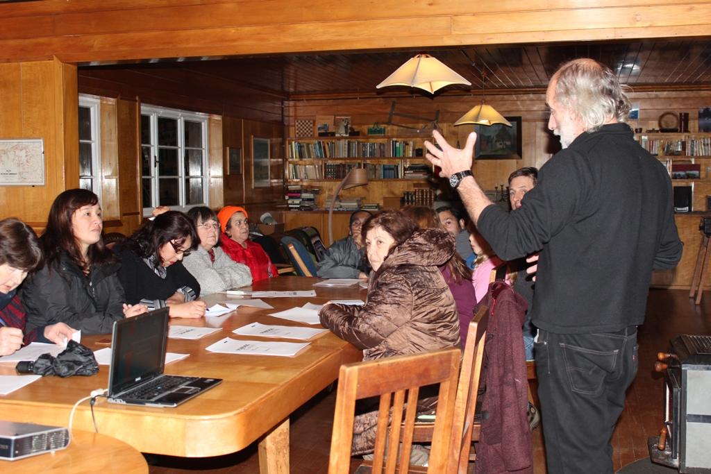 Mauricio Quercia contó a los asistentes el nuevo Fondo de Patrimonio Cultural