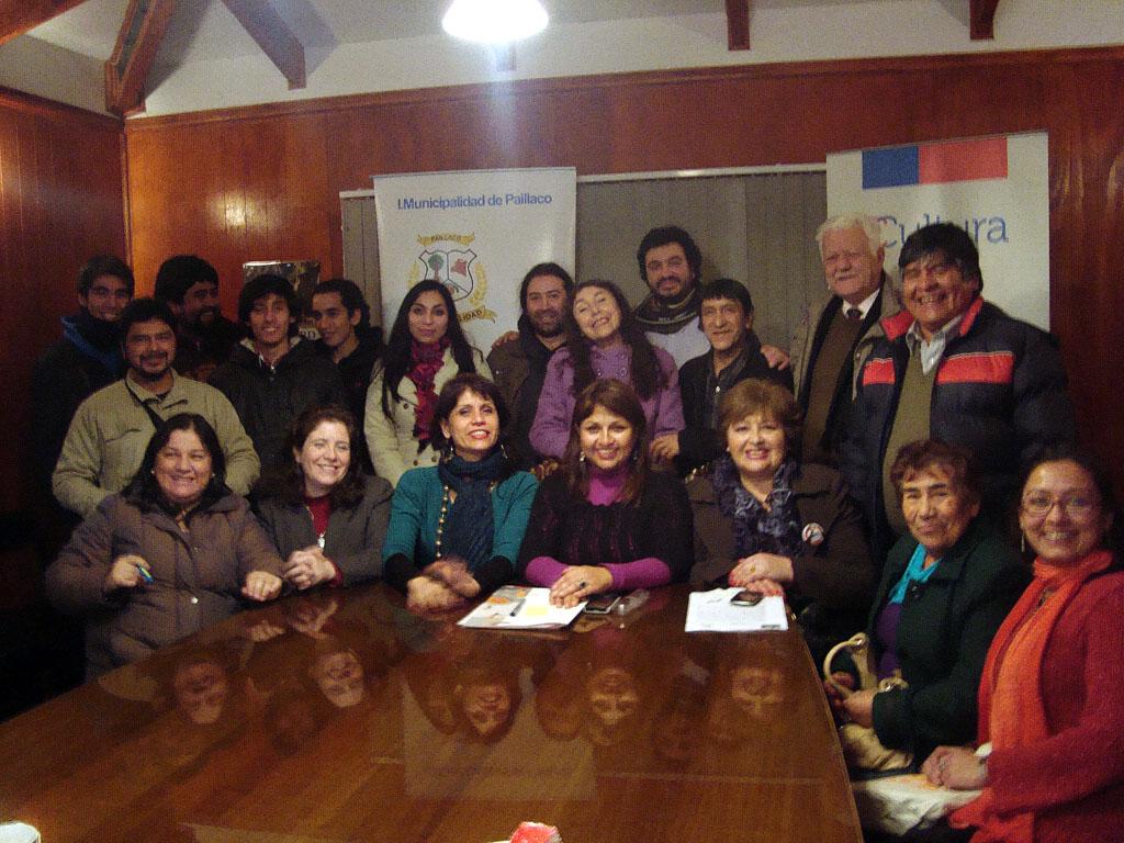 Desde la comunidad cultural, diversos actores valoraron la realización del programa por segundo año en Paillaco.