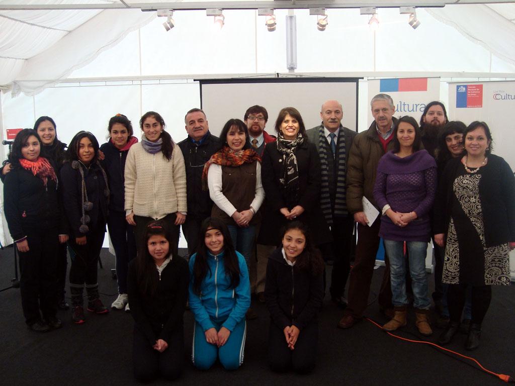 Programa permite la realización de 50 talleres artísticos en 12 colegios de la región, en sus modalidades parvularia, media y portadores.