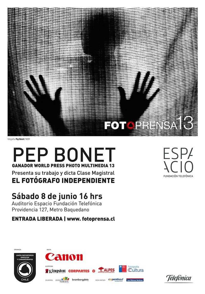 Charla de Pep Bonet