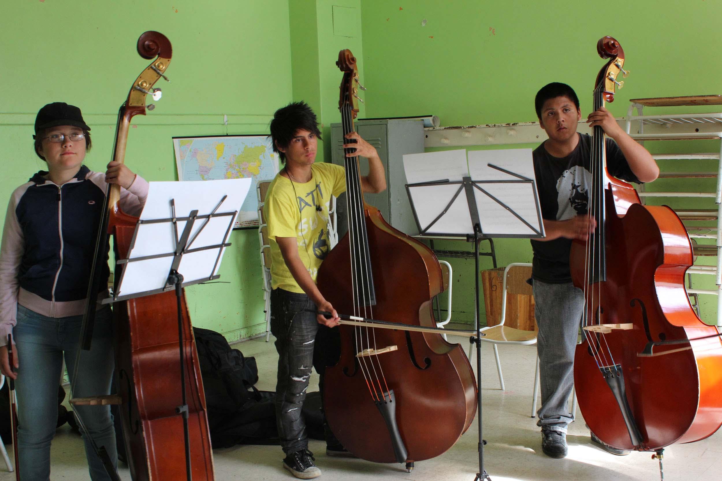 Durante tres días se realizarán capacitaciones a los integrantes de las Orquestas de la región de Aysén