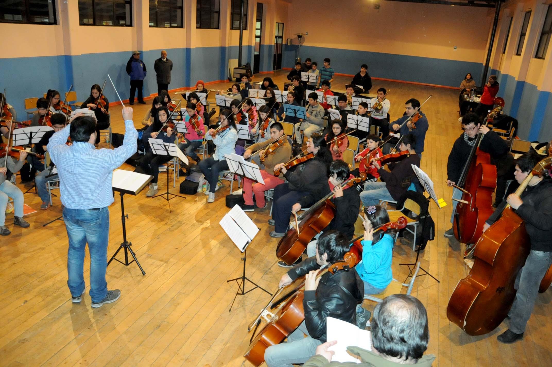 capacitación de Orquestas de Sello Regional