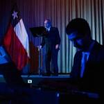 Actor Sergio Hernández realizó lectura dramática durante la ceremonia