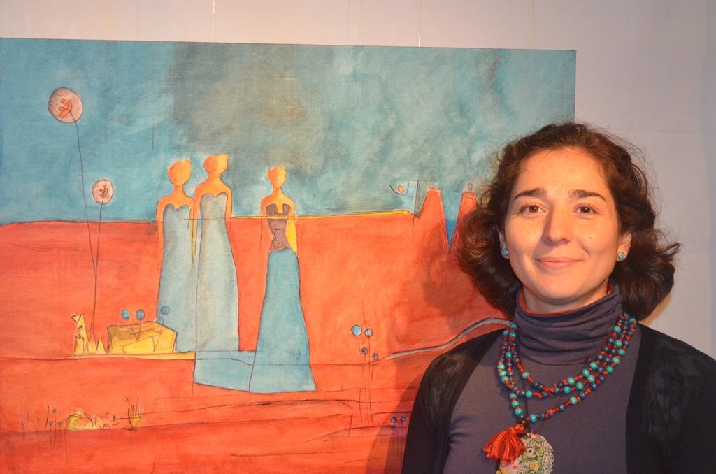 Centro de extensión del Consejo Regional de la Cultura y las Artes inauguró exposición de Mariana Falcón.