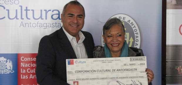 Entrega recursos FAE a Corporación Cultural de Antofagasta
