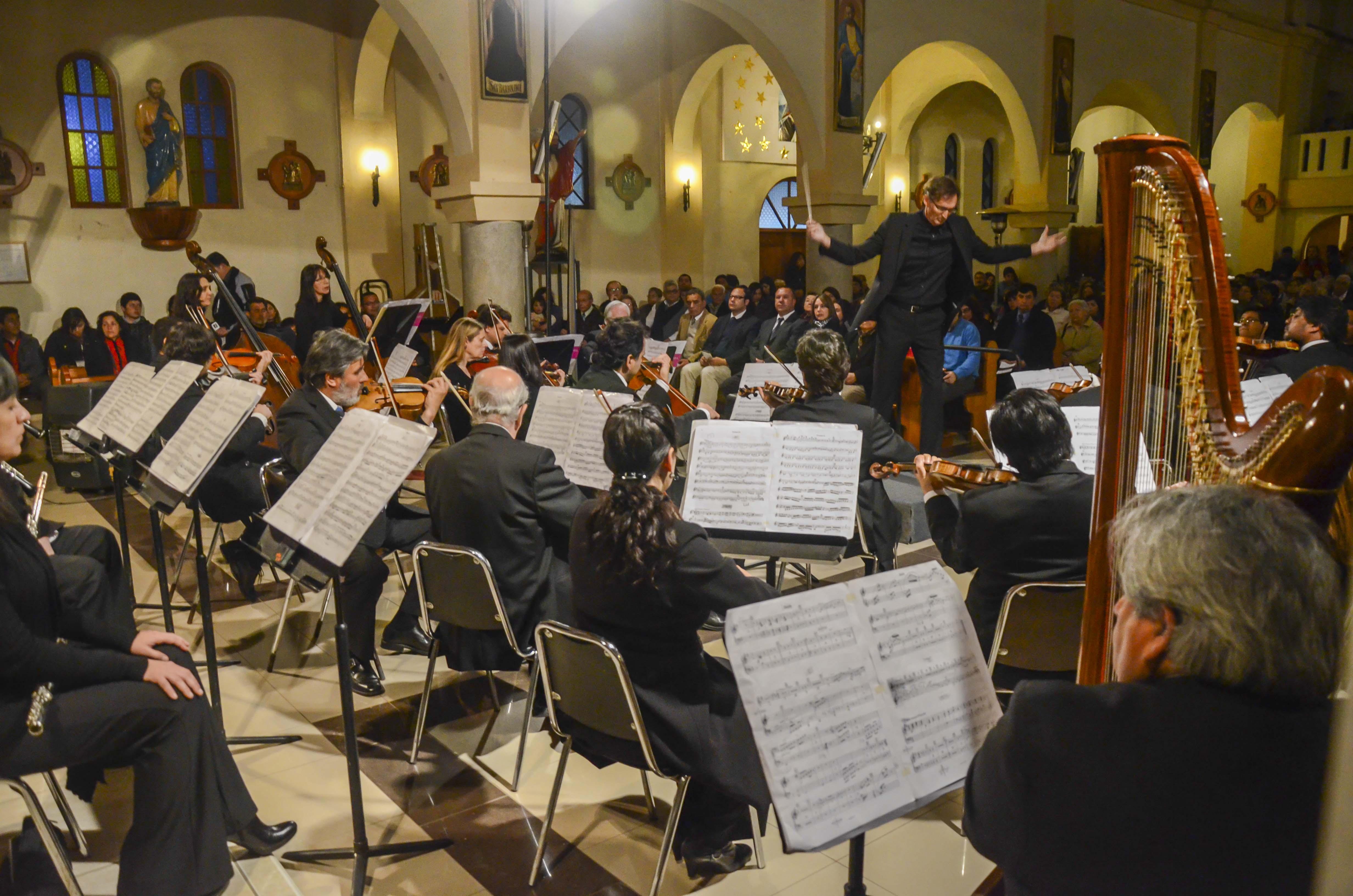 Orquesta de Cámara de Chile en Quintero