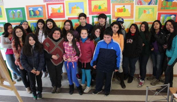 Veinte jovenes participaron del Taller de Pintura y Dibujo