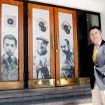 Ministro Ampuero en muestra Neruda Vive, en el Centex del Consejo de la Cultura